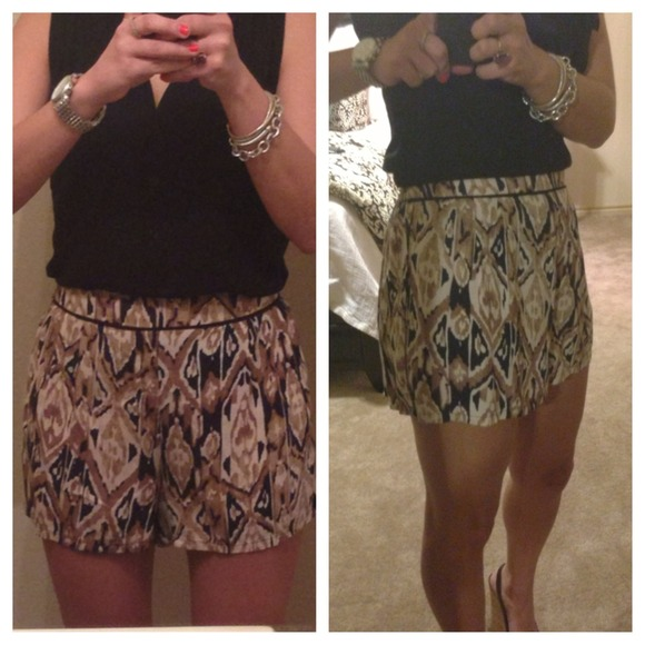 High Waisted Flowy Shorts - NWOT S from Chelsea's closet on Poshmark