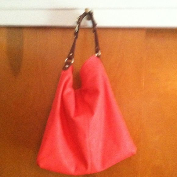 Express Handbags - SOLD!!! Coral express tote