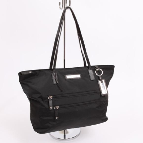 09c1fb43e8f Calvin Klein Bags | Black Exclusive Signature Nylon Tote | Poshmark