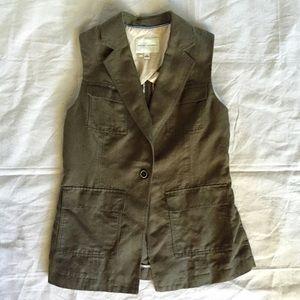 Banana Republic Jackets & Coats - Banana Republic Sleeveless Blazer / Vest Sz 14