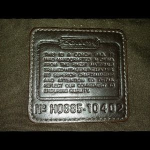 3b43e1c561d3 Coach Bags - Coach bag model H0685-10402