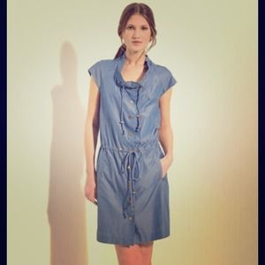 Tory Burch Chambray Pepper Dress