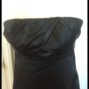 The Limited black cocktail dress, strapless sz4