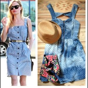 ☀Sunny denim dress. NWT