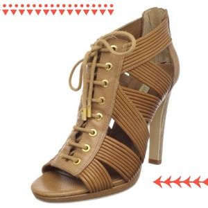 BCBG Lainey Sandals in Royal Tan