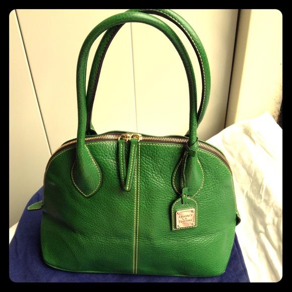 69% off Dooney & Bourke Handbags - Dooney and Bourke Kelly green ...