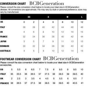 Bcbg bcbg size charts from emiluna com s closet on poshmark