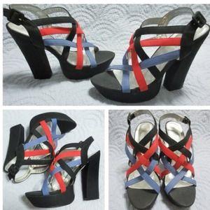 Shoes - 🇺🇸Strappy Platform Heels 👠