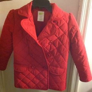  Girls size Small (7-8) Quilted Coat
