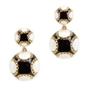 NEW kate spade  'piñata park' round drop earrings