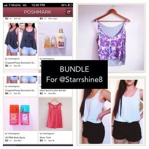 BUNDLE For @Starrshine8