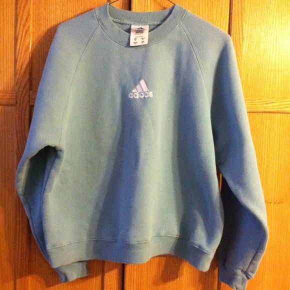 Adidas Sweatshirt Light Blue