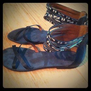 Brand New Nine West gladiator sandals