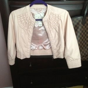 Arden B Jackets & Blazers - Arden B faux leather biker moto jacket