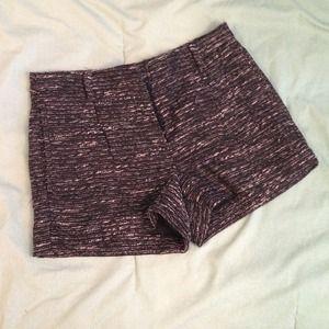NEW Mango Tweed Shorts