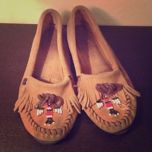 Minnetonka Moccasin Loafers.