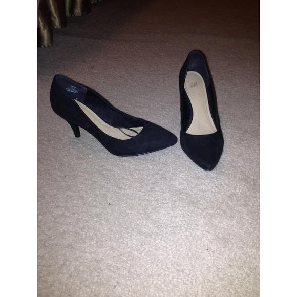 H\u0026M Shoes   Hm Vintage Style Black