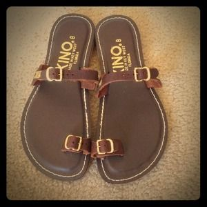 33 Off Kino Shoes Kino Handmade Flip Flops Made In Key