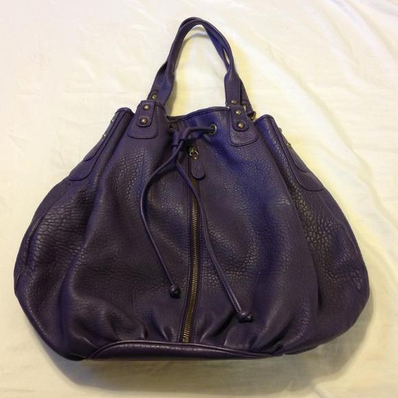 4349f1cc0a8 ⚡SALE⚡️NORDSTROM - dark purple leather bag. M_51f5af95f816d8340003ef70