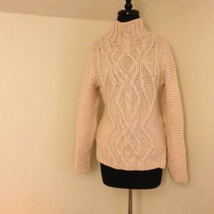 Zara Cable-knit Baby Pink