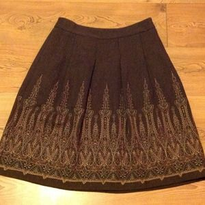 LOFT petite wool blend skirt. Great price!