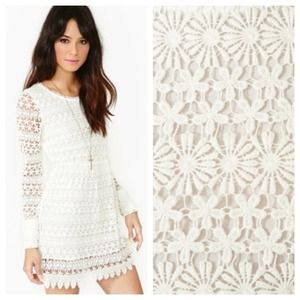 nasty gal Dresses & Skirts - Nasty gal love lace crochet dress