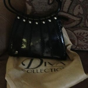 Handbags - Black handbag Diva collection