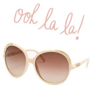 ❗Bundled❗Chloe Oversized Scallop Sunglasses