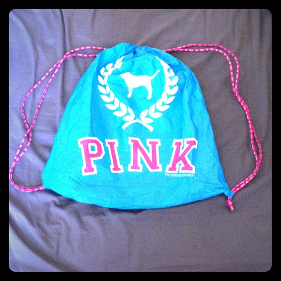 Victoria's Secret - 🏡MOVING SALE🏡 VS Pink! Drawstring Bags from ...