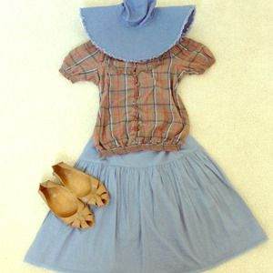 Kimchi Blue Tops - Free w/any purchase!!! Vintage-style pheasant top