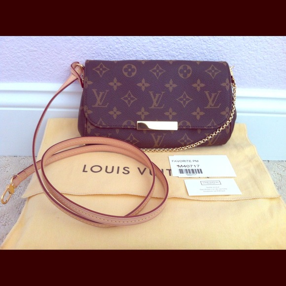 406f432f38c 💜SOLD ON EBAY💜 Aurhentic Monogram Favorite PM. NWT. Louis Vuitton
