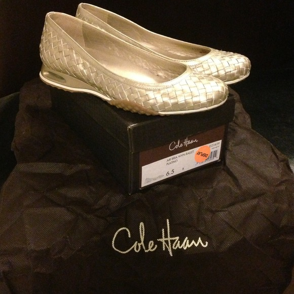 4ac0011444d1 Cole Haan Shoes - Cole Haan Air Bria Woven Ballet Flat Size 6.5