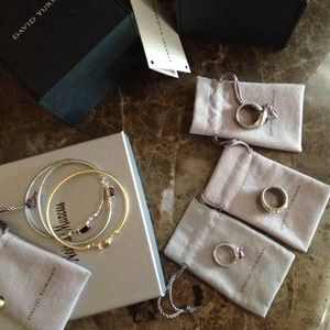 My DAVID YURMAN jewelry AUTHENTIC 