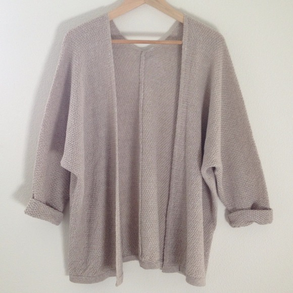 3e45a0c52085f Brandy Melville Sweaters   Caroline Cardigan Tanbeige   Poshmark