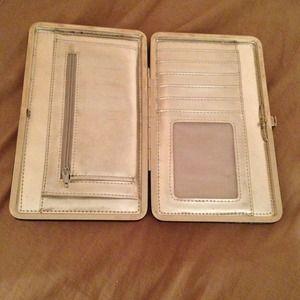 Handbags - Hard case black patent wallet