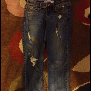 Hollister Destroyed jeans