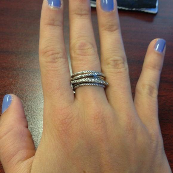 David Yurman Crossover Engagement Ring