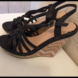 Missoni inspired Wedges