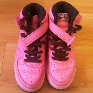 pink air force 1 high