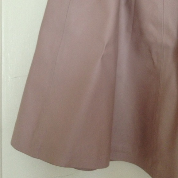 H&M Skirts - Pink faux leather skirt