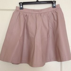 H&M Dresses & Skirts - Pink faux leather skirt