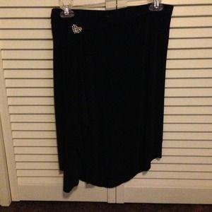 One Love Black skirt