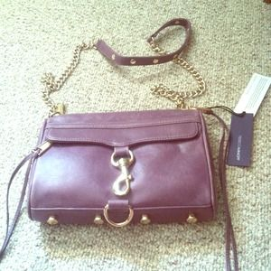 A Rebecca Minkoff leather bag
