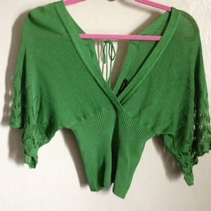 Gadzooks Tops - Green sexy top