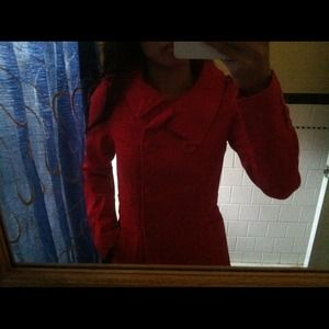 H&M Red Jacket. Size 2.