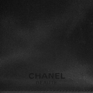 Chanel Beautē cosmetic brushes case.