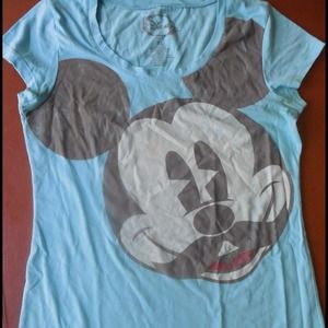 Mickey Mouse (with a mustache) tee!