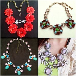 $10 Popular statement necklaces