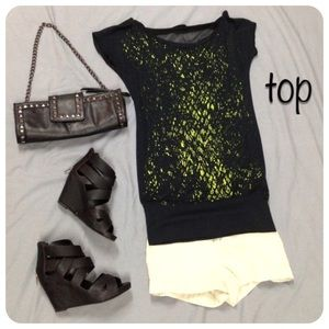Tops - cut out back top
