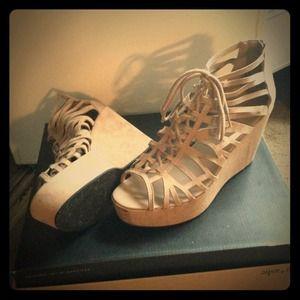 H&M Gladiator Wedges